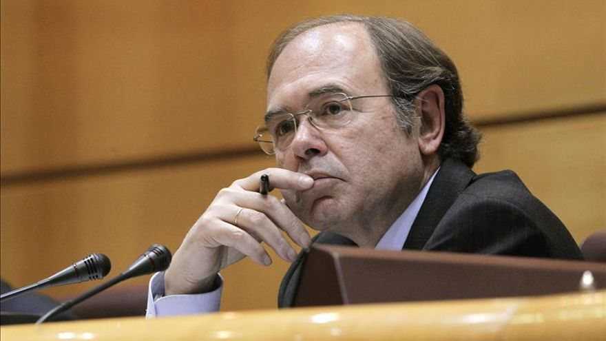 El presidente del Senado, Pío García Escudero. EFE