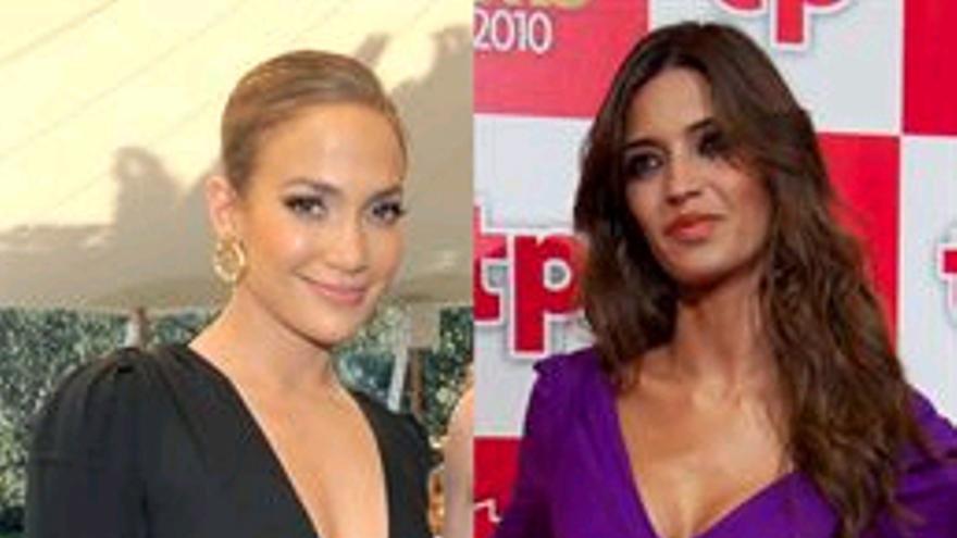 Sara Carbonero y Jennifer López ¿quién imita a quién?