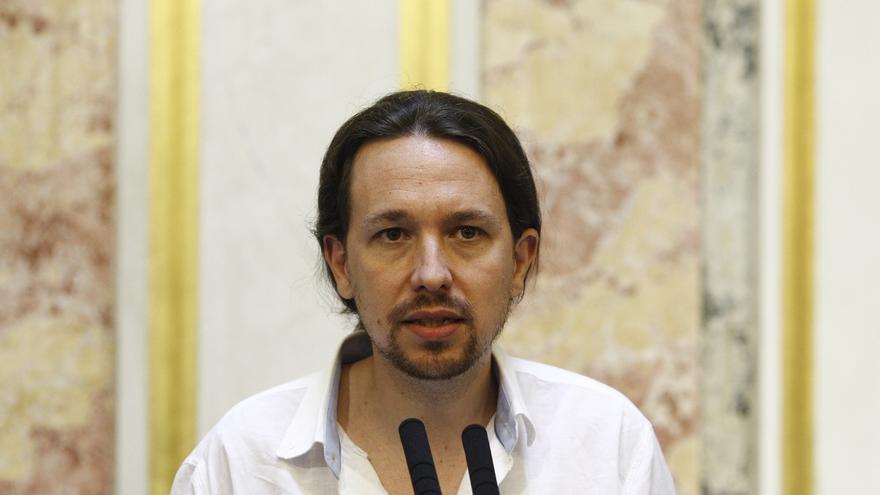 """Pablo Iglesias acusa a Homs y CDC de apoyar en el Congreso """"a quien le quiere encarcelar"""""""