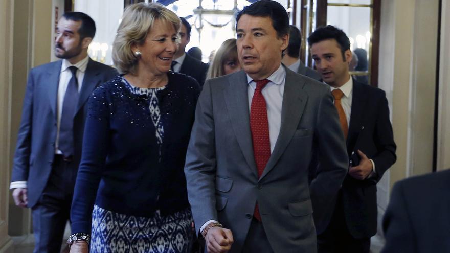 """Ignacio González achaca la """"búsqueda de bronca"""" en la Asamblea de Madrid a la situación de """"descontrol"""" del PSOE"""
