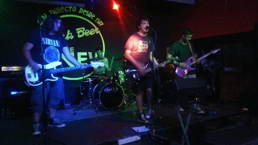 Yey Sax, durante una actuación en la sala Rock Beer the New de Santander.
