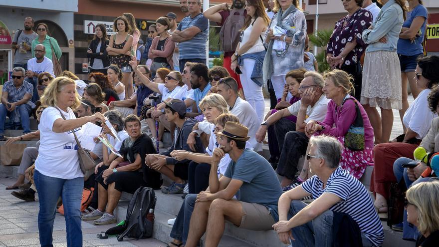 Asamblea ciudadana celebrada este sábado contra la construcción de un hotel en La Tejita