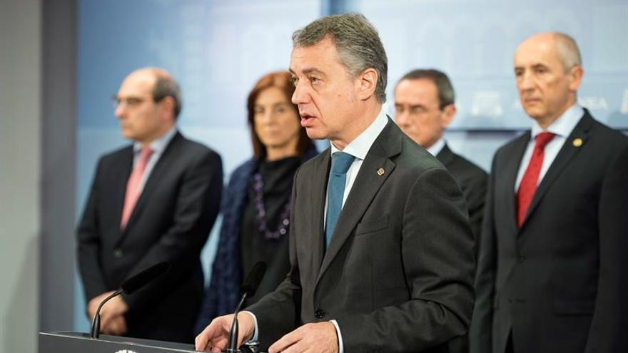 """Urkullu reclama abandonar """"el dogmatismo"""" para evitar nuevas elecciones"""
