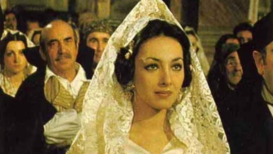 Rosaria Omaggio, protagonista de 'El virgo de Visanteta'