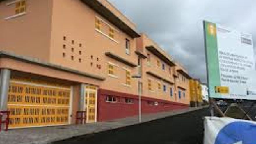 Imagen de archivo de las viviendas sociales del Barranco de la Cruz de La Paloma.