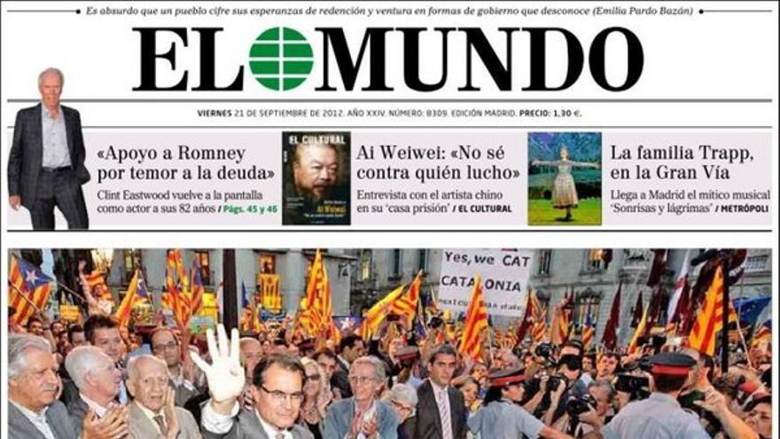 De las portadas del día (21/09/2012) #8