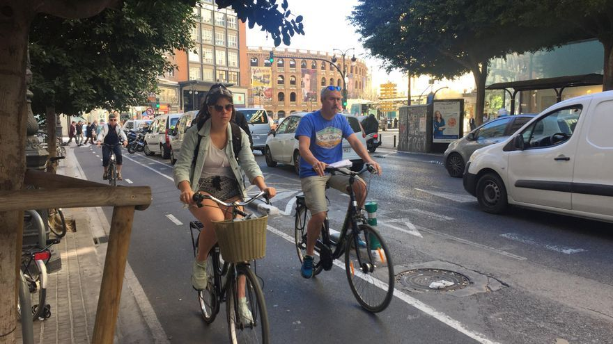 Usuarios del anillo ciclista