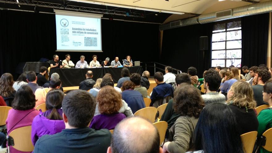 Assamblea de Mitjans en lluita / Raquel Ligero