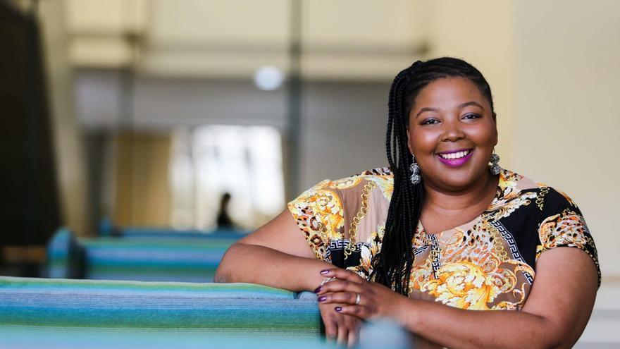 La doctora y activista por los derechos sexuales y reproductivos en Sudáfrica, Tlaleng Mofokeng © Private