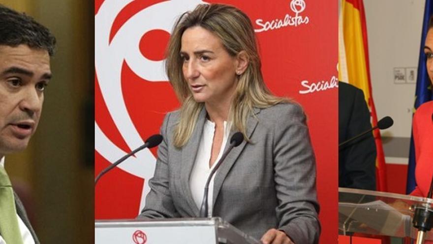 Socialistas castellano-manchegos en la nueva ejecutiva de Pedro Sánchez