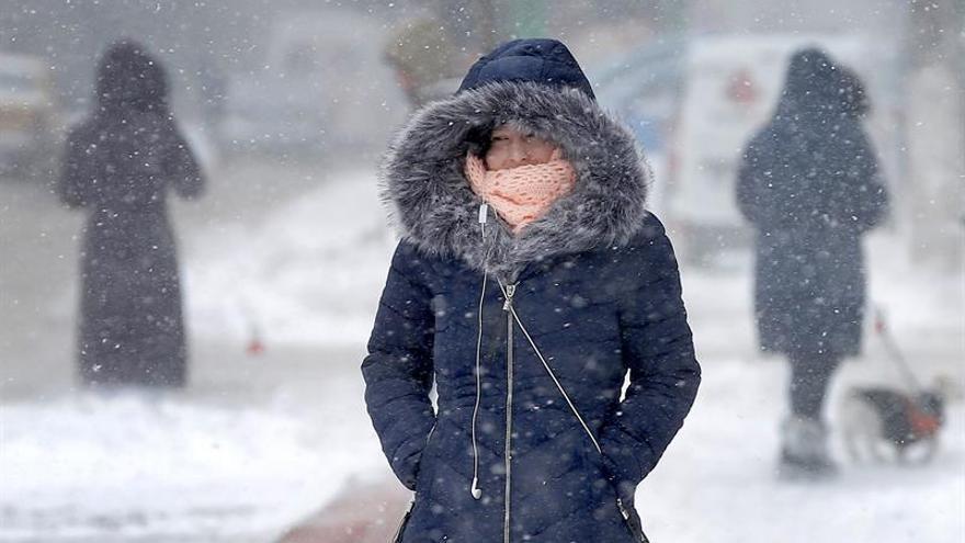 Al menos dos muertos en Rumanía por la ola de frío y fuerte nevada