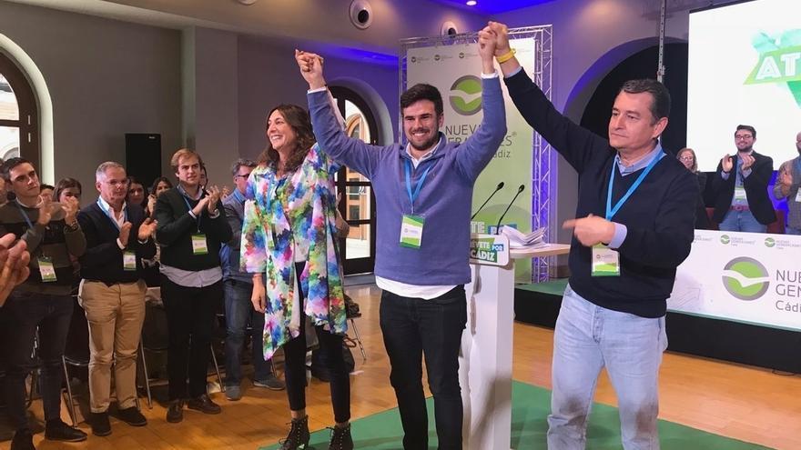 """Fran Moreno, nuevo presidente de NNGG Cádiz, pide apoyo a los jóvenes para """"volver a teñir de azul la provincia"""""""