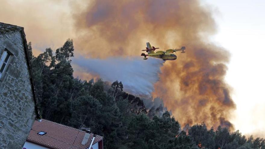 Dos nuevos incendios forestales en Ourense