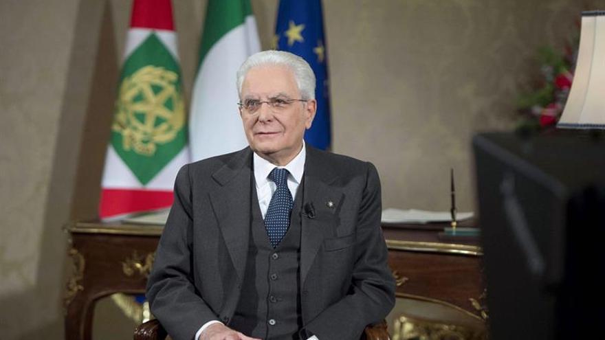 El presidente de Italia pide propuestas realistas para los comicios de marzo