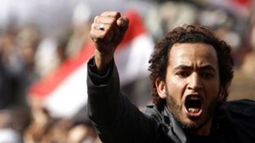 Los manifestantes no piensan parar hasta que se vaya Mubarak. (EUROPA PRESS)