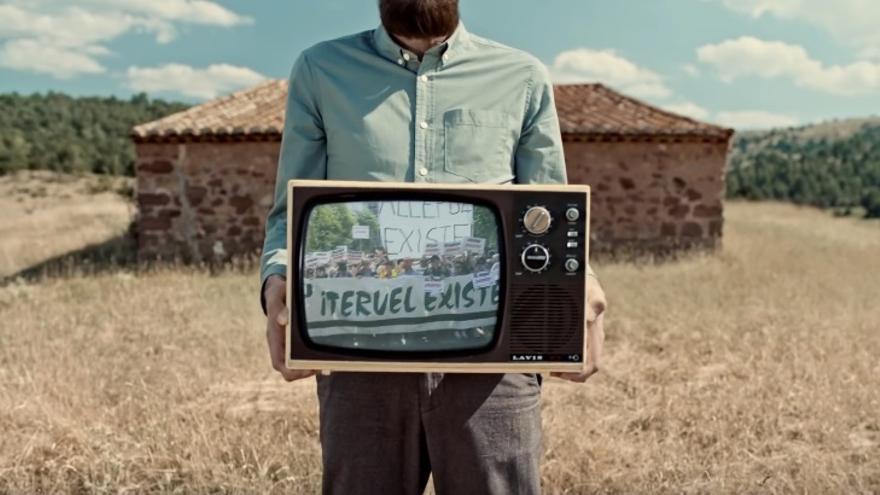 Captura de pantalla de uno de los anuncios de la nueva campaña de Ikea en la que Teruel es la ciudad protagonista