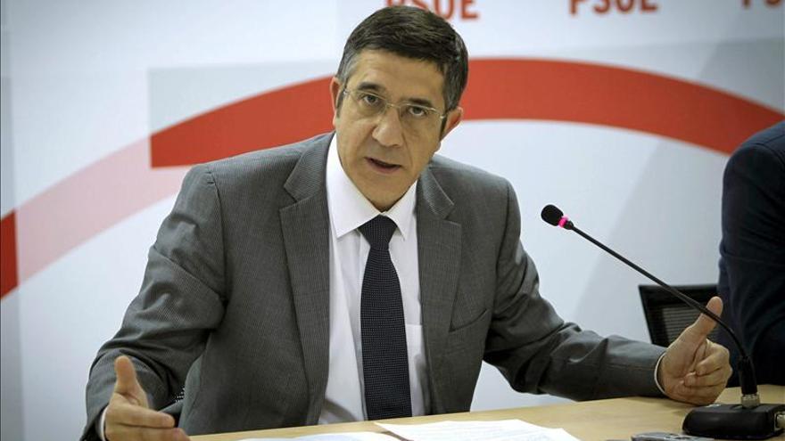 Patxi López expone hoy en Madrid su visión sobre el PSOE