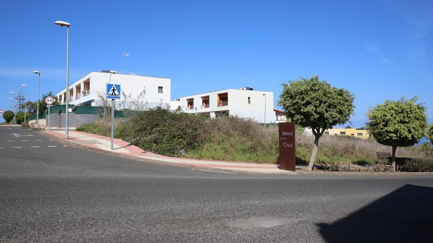 Urbanización los Llanos de la Cruz, en Firgas (Gran Canaria).