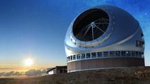Recreación del Telescopio de Treinta Metros (TMT)