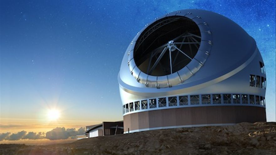 Recreation of the Thirty Meter Telescope (TMT)