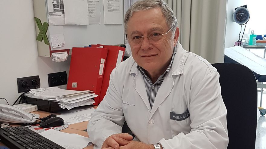 El oncólogo José Norberto Batista.