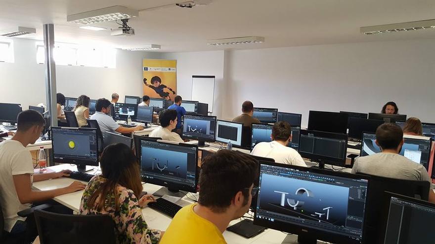Primer curso de animadores en 3D en Gran Canaria