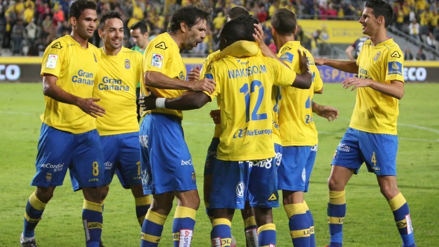 Partido de vuelta de la Copa del Rey entre la UD Las Palmas y el Eibar en el Estadio de Gran Canaria.
