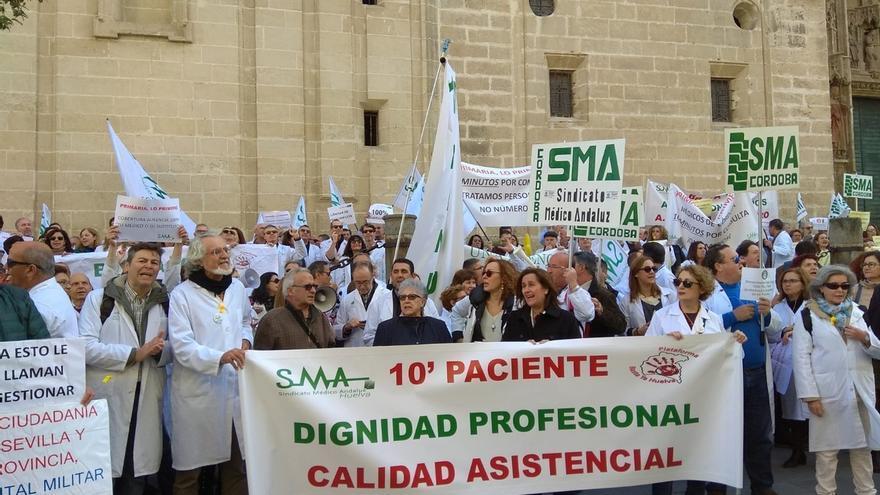 Sindicato Médico Andaluz sitúa en más del 85% el seguimiento de la huelga de profesionales de atención primaria