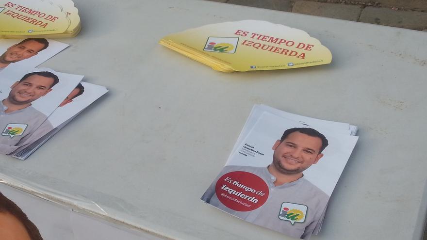 Cierre de campaña de IU en Sevilla. / Gerardo Tecé.