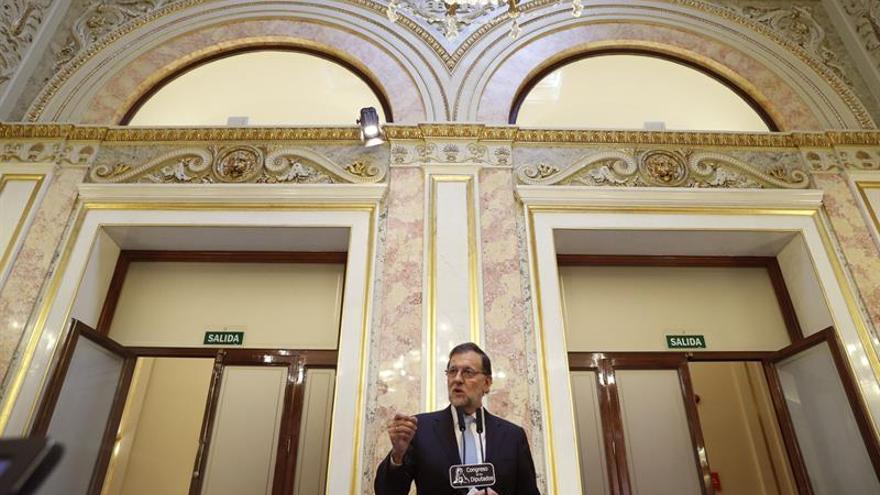 """Rajoy: """"Quiero gobernar y pido que se me deje gobernar"""""""