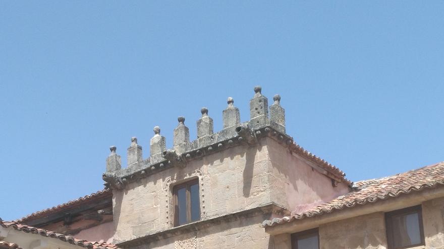 La Casa del Doncel, en Sigüenza (Guadalajara) FOTO: Raquel Gamo