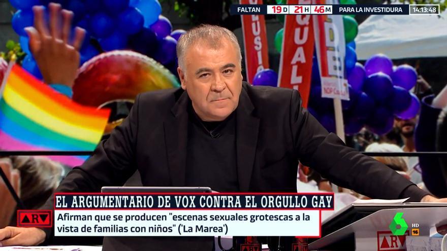 Antonio Garcia Ferreras, hoy en Al rojo vivo