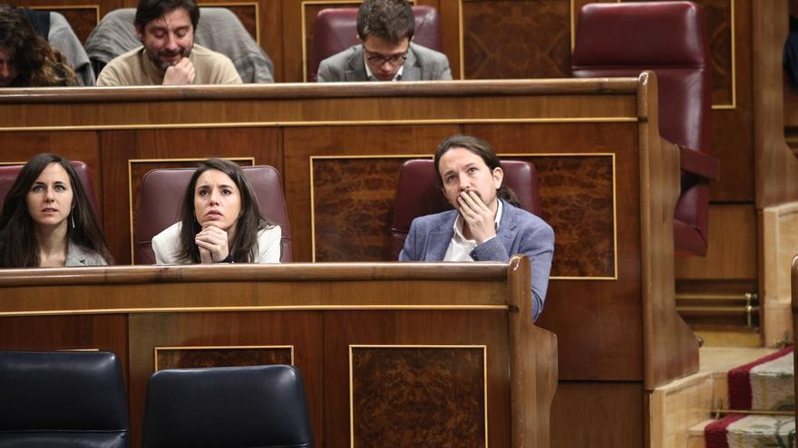 """Iglesias y su equipo se repliegan tras el """"grave"""" borrador de Bescansa y no aclaran si mantienen la confianza en Errejón"""