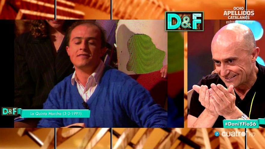 'Dani y Flo' rescata el pasado rapero de Pepe Viyuela: 'Si esto no me hunde...'