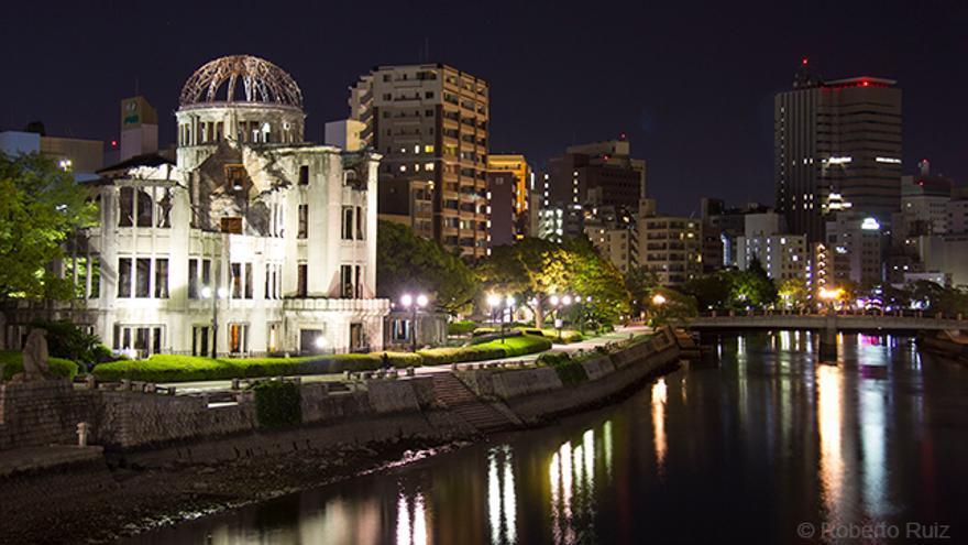 El Atomic Bomb Dome de Hiroshima, Japón