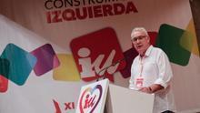 Cayo Lara, en su discurso de despedida ante la XI Asamblea federal de IU.