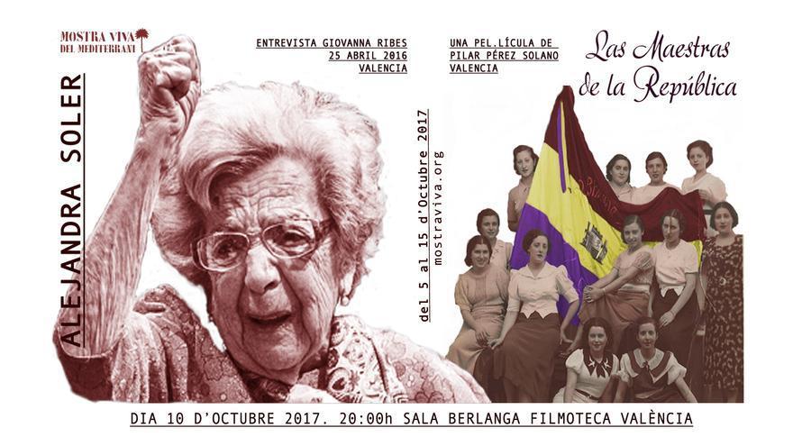 Homenaje de la Mostra Viva a Alejandra Soler