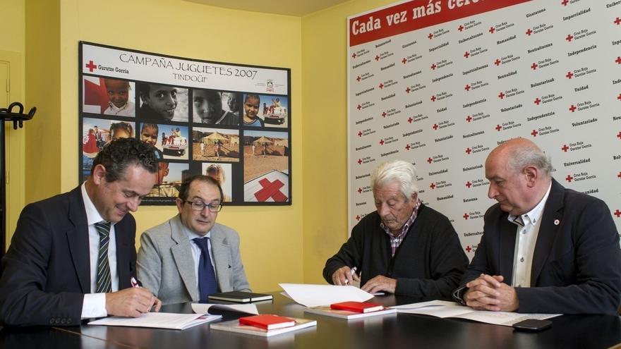 EDP y Cruz Roja País Vasco firman un convenio para la protección de los clientes en situación de vulnerabilidad.