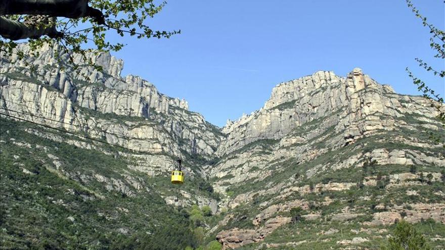 El teleférico más antiguo de España, el Aeri de Montserrat, cumple 85 años