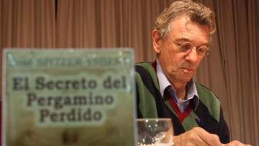 José Spitzer-Ysbert presenta El Secreto del Pergamino Perdido