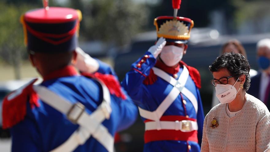 La canciller de España llega a Paraguay con el acuerdo UE-Mercosur en la agenda
