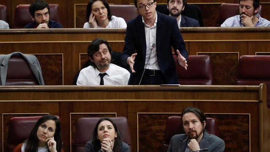"""Errejón acusa al Ejecutivo gobernar sólo para """"entorpecer acción justicia"""""""