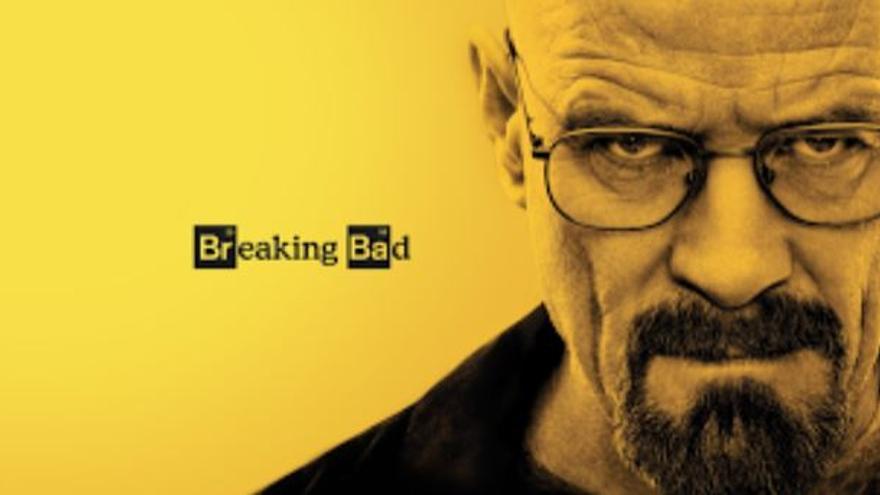 Cartel de la serie Breaking Bad, creada y producida por Vince Gilligan.