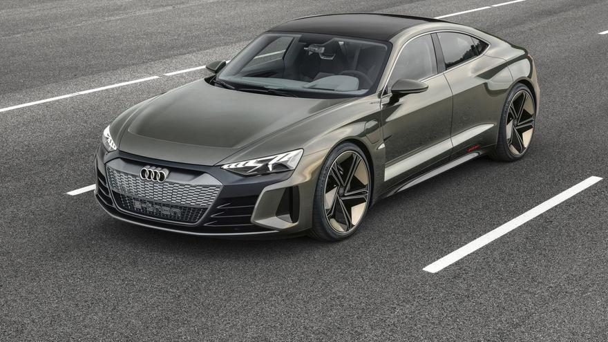 Audi e-tron GT.