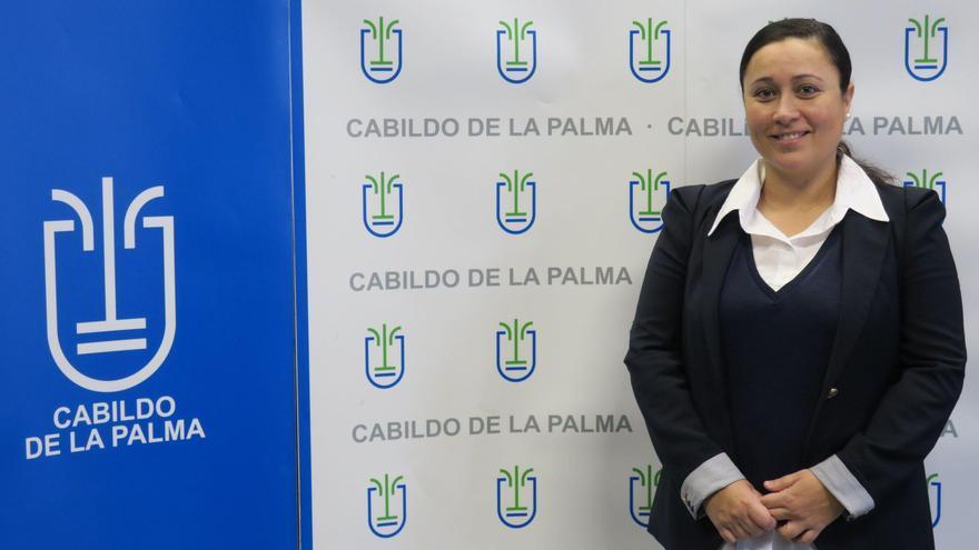 Carmen Brito, consejera de Participación Ciudadana del Cabildo de La Palma.