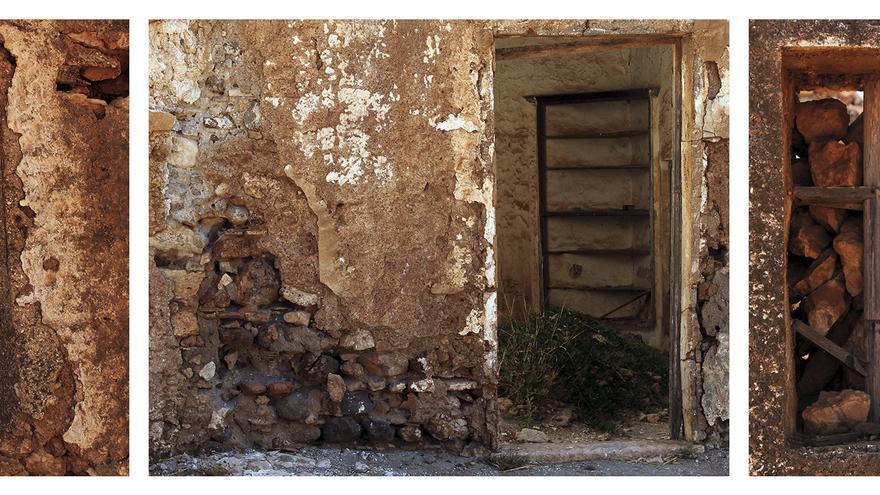 Rastros de vida, escombros fantasmagóricos. / JUAN MIGUEL BAQUERO