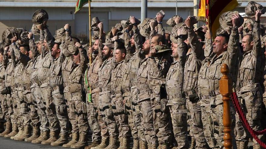 España tiene en Irak 287 militares y en breve se desplegarán otros 30