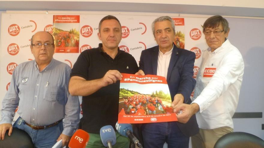 """CCOO y UGT desean que """"se rompa la cuerda"""" en el PSOE para que se """"solucione"""" la crisis interna"""