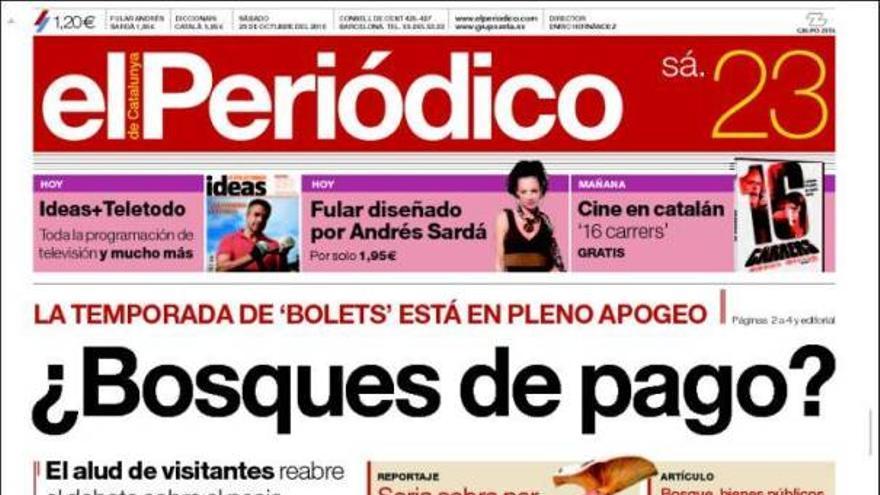 De las portadas del día (23/10/2010) #10