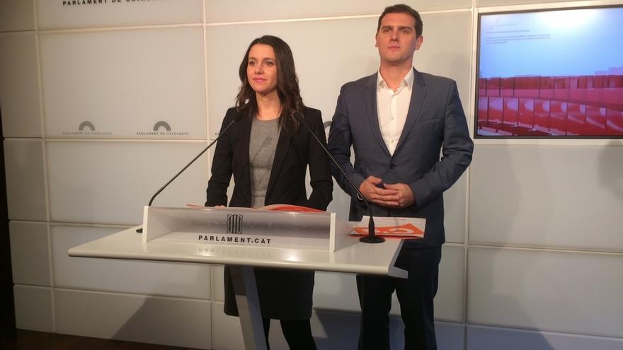 Albert Rivera elige a la catalana Inés arrimadas como portavoz de la Ejecutiva